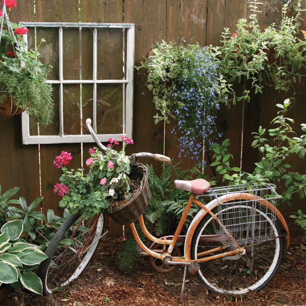 Vergr ern sie ihren garten mit einem gartenposter und - Gartendeko fahrrad ...